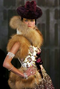 Christian Dior.... Galliano-galliano,what made you take that m...absenthe...