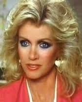 """DONNA MILLS (1940, now 73) is an American actress and producer.  During her  her nine-year tenure as Abby Cunningham on the primetime 90's soap opera 'KNOTS LANDING', her iconic beauty and style was praised and copied, especially the make-up and hairstyles. In the movie 'Play Misty for Me', she played the role of """"Tobie,"""" Clint Eastwood's girlfriend. Donna's charismatic beauty stole the show."""