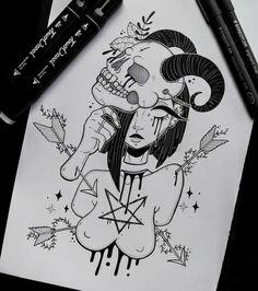 ☠️💀The masks we use💀☠️ ▫️▫️▫️ Dark Art Drawings, Cool Drawings, Tattoo Drawings, Pencil Drawings, Arte Horror, Horror Art, Goth Art, Art Sketchbook, Cartoon Art