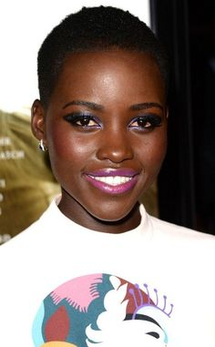 Lupita Nyong´o she is the IT girl of fashion!!! Her skin is freakin gorgeous and everything she wears is amazing.