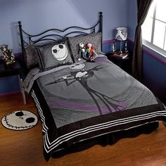 I found 'Jack Skellington Duvet Cover   Nightmare Before Christmas Boutqiue' on Wish, check it out!