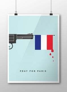Pray for Paris - Un hommage en illustrations . Pray For Paris, Illustrations, Paris France, Images, Rondom, Holiday Decorating, Inspiration, Shirt Designs, Base