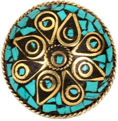 ShopStyle: Round Ring in Many Colors - by Natalie B. Jewelry