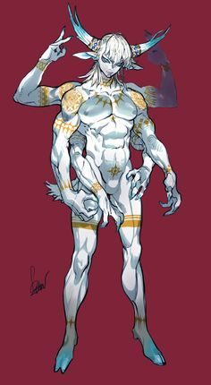 Men in fantasy art — Fumble. Humanoid Creatures, Alien Creatures, Fantasy Creatures, Character Creation, Character Concept, Character Art, Ronin Samurai, Monster Boy, Francis Picabia