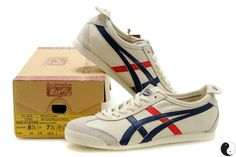 Vintage trainers, I used to have a pair of these. Asics, Onitsuka Tigers... Brilliant.