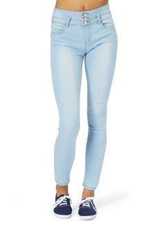 High waisted skinny jeans rue 21