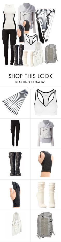 """""""Let the Games Begin"""" by ironraven281 ❤ liked on Polyvore featuring Parker, NIKE, DRKSHDW, Rick Owens, Retrò, Charlotte Russe, AllSaints, 5.11 Tactical, women's clothing and women"""