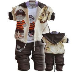 Fall Winter Infant Baby Clothing Sets Cartoon - Baby Shop Discounts Baby Shop Discounts