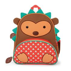 """The backpack where fun meets function!<br>The perfectly sized preschool backpack for """"I can do it!"""" moments in a range of fun characters. Our friendly-faced backpack has a roomy main compartment with an easy-to- clean lining. Stash snacks in the insulated front pouch, and slip a juice box or straw bottle in the mesh side pocket. With a write-on interior nametag, adjustable, padded straps and even a place for pencils, our pack is preschooler perfect!"""