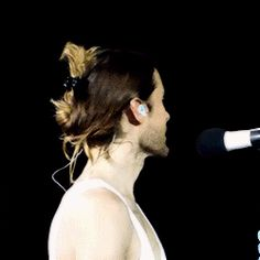 Jared Leto and Thirty Seconds To Mars addicted.GIF.