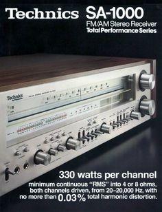 Vintage audio Technics Ad Hi Fi Stereo Audio Vintage, Vintage Ads, Equipment For Sale, Audio Equipment, Technics Hifi, Radios, Audio Room, Audio Sound, Hifi Audio