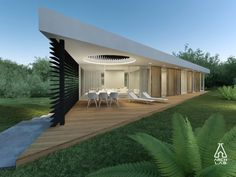 IEVA AND GIEDRIUS HOUSE ON SLOPE - Modern Villas - INDIVIDUAL PROJECTS - PROJECTS