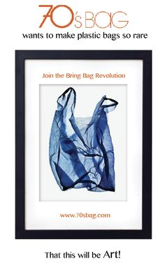 Use 70's BAG for shopping instead of plastic bags! Check out these incredible cute bags on www.70sbag.com