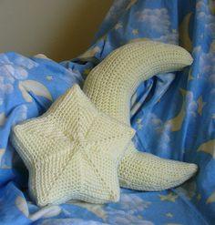 twinkle twinkle, moon & star: free crochet pattern