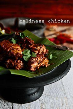 Easy Balinese Chicken @ Not Quite Nigella Asian Recipes, Healthy Recipes, Ethnic Recipes, Orange Recipes, Weeknight Recipes, Dinner Recipes, Balinese Recipe, Sauce Supreme, Indonesian Cuisine