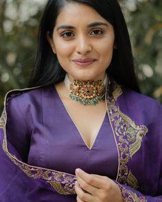 Embroidery Suits Punjabi, Embroidery Suits Design, Chocker Necklace, Chokers, Pearl Choker, Patiala, Salwar Kameez, Salwar Suits, Wedding Saree Collection