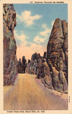 Needles Highway South Dakota, Wayne, Paul me and Norene  went camping and did so much site seeing , this was amazing, nothing we ever viewed before,  A must see,