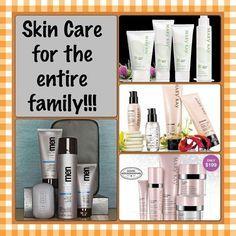 Mary Kay cuidado de la piel para toda la familia!