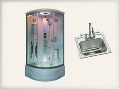 Does your bar sink or steam shower need a plumber? Call on Crystal Waters Plumbing. Bar Sink, Steam Showers, Plumbing, Canning, Crystals, Phone, Telephone, Home Canning, Crystal