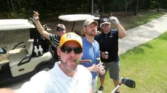 Wonder how the fantasy football website team at StatChat.com gets ready for another week of football talk before the NFL training camps open?  We Do It IN Style!  #golf #pga #fantasysports #fantasyfootball #nfl #getranked #statchat #braggingrights #cash