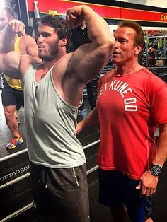 Mr Universe Calum von Moger draws comparisons to Arnold Schwarzenegger | News.com.au