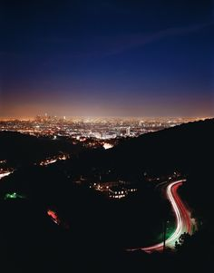 Mulholland Drive, LA  SO IN LOVE.