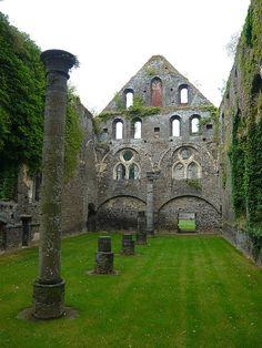 visitheworld:    Abbaye de Villers la Ville in Wallonia, Belgium (by Vaxjo).