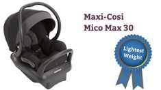 Maxi-Cosi Mico Max 30 (Lightest weight in class)