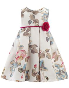 Baby Amelie Flower Dress | Multi | Monsoon