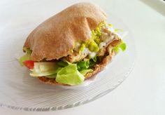 Paladares {Sabores de nati }: Pan pita integral & Salsa Tzatziki