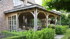 Eikenhouten veranda, Harderwijk - Bronkhorst Buitenleven