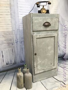 Vintage Pot Cupboard /bedside Table Cabinet / Cupboard ❤️ Delivery Available | eBay