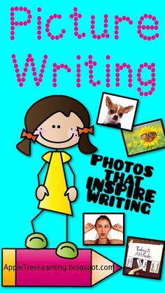 Picture Writing:  Using photos to inspire writing.  Great for all grade levels. #writing #strategy