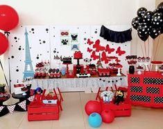 Kit Festa Miraculous no Paris Birthday Parties, Frozen Birthday Party, Birthday Party Favors, Birthday Party Decorations, Boy Birthday, Party Themes, Party Party, Birthday Ideas, Party Ideas