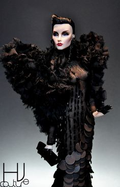 Goth Couture in Black