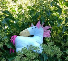 AILEEN Magical unicorn softie unicorn soft toy plushie white Softies, Plushies, Peg Bag, Softie Pattern, Shops, Magical Unicorn, Acrylic Wool, Stuffed Toys Patterns, Etsy Shop