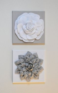TWO Wall Flowers
