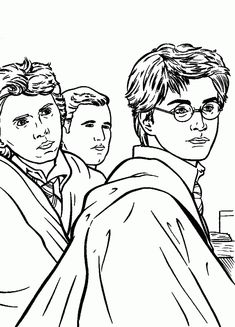 Harry Potter Coloring Pages . 30 Harry Potter Coloring Pages . Free Printable Harry Potter Coloring Pages for Kids Shark Coloring Pages, Cartoon Coloring Pages, Coloring Pages To Print, Coloring Book Pages, Coloring Pages For Kids, Coloring Sheets, Kids Coloring, Harry Potter Colors, Harry Potter Free
