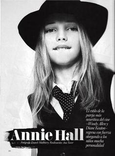 Vogue Kids Spain Issue 31. F/W 13-14 Julia Mayer Photo : Franck Malthiery Sugar Kids Agency