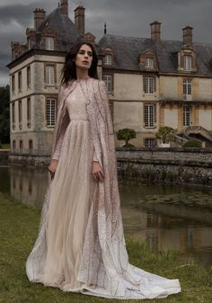 2016-17 AW Couture | Paolo Sebastian - what a beautiful dress http://fave.co/2dj83Uf