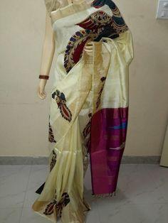 kalamkari saree online shopping http://acebazaar.com/                                                                                                                                                                                 More