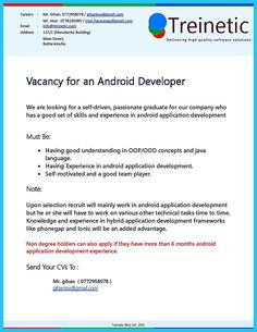 If you have experience in application development and you want to get a job from your experience, you can make Android Developer Resume. You need to w...