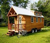 Trailer decorado: uma casa móvel muito simpática