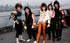 Outlaw Pride: After forming in the early 1980s, Bon Jovi - comprised of David Bryan (left), Tico Torres, singer Jon Bon Jovi, Alec John Such (past member) and Richie Sambora - hit Billboard's Hot 100 chart in 1986, with