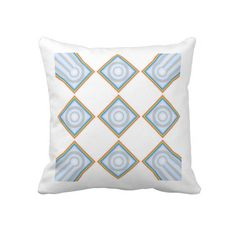 Diamond Rainbow Tiled Sofa Pillow Designed by Touch of the Wind