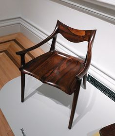 Renwick Gallery is a branch of the Smithsonian American Art Museum. The gallery now displays a wide range of American craft and decorative arts. American Crafts, American Art, Sam Maloof, First Art, Wood Ideas, Art Decor, Home Decor, Side Chairs, Furniture Decor