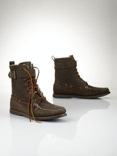 Brentwood Oiled Suede Boot - Polo Ralph Lauren Boots - RalphLauren.com $85