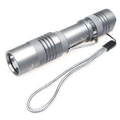 FandyFire SP00 T6 400 LM 5 Mode LED Flashlight Led Flashlight, Alarm Clock, Lights, Cats, Silver, Projection Alarm Clock, Gatos, Alarm Clocks, Lighting