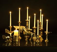Candlestands by Nima Oberoi Lunares will add an extra pinch of romance to your wedding.