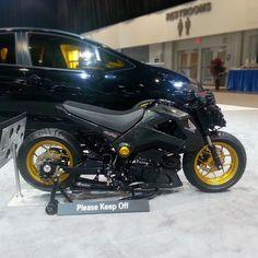 Honda Grom mini bike. sema 2014